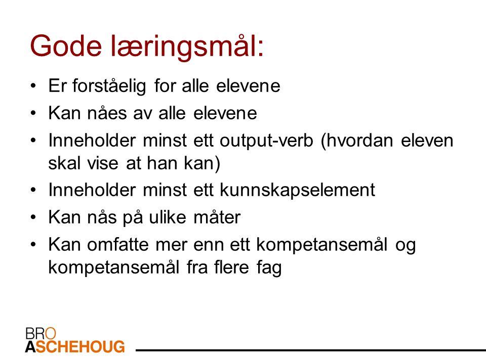 NORSK (2.trinn) Målet for opplæringen er at eleven skal kunne lese store og små trykte bokstaver.