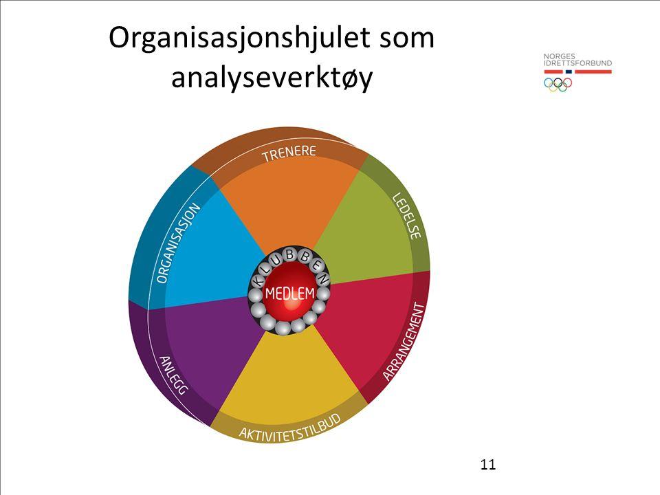 11 Organisasjonshjulet som analyseverktøy