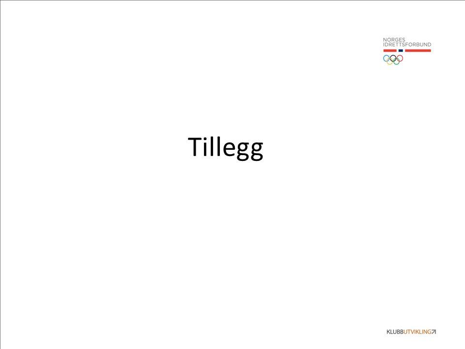 Tillegg