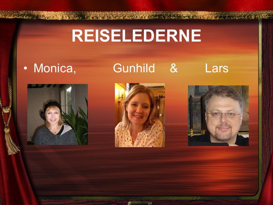 REISELEDERNE Monica, Gunhild & Lars