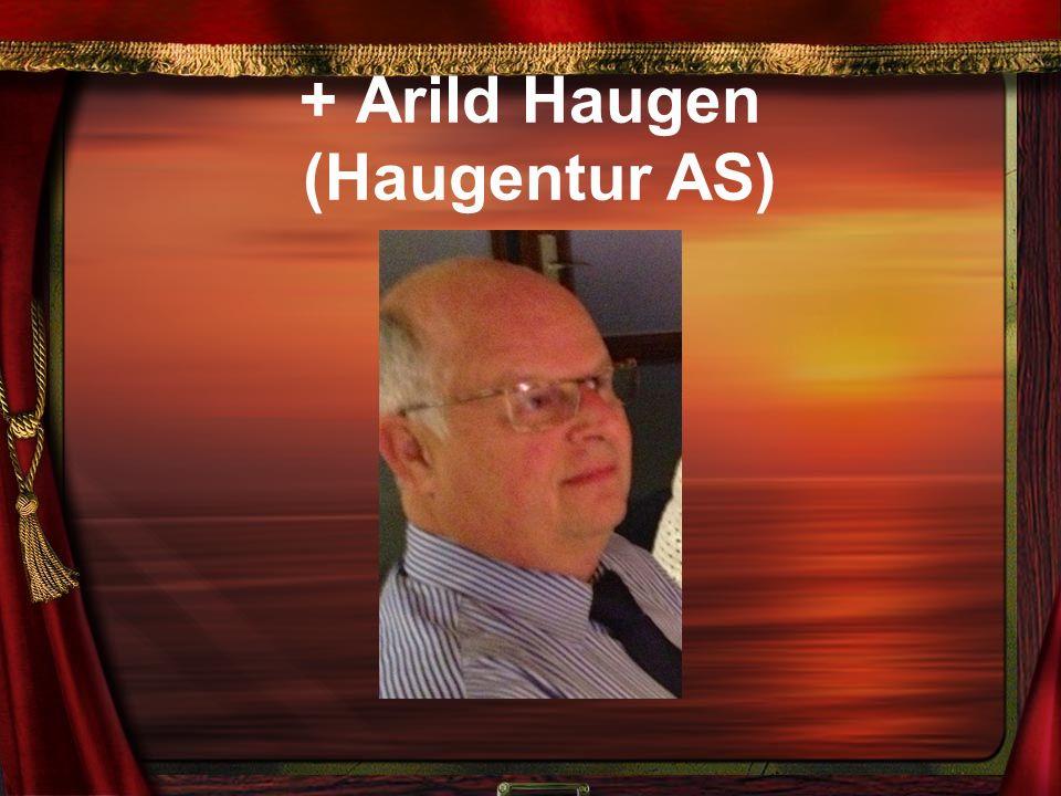 + Arild Haugen (Haugentur AS)