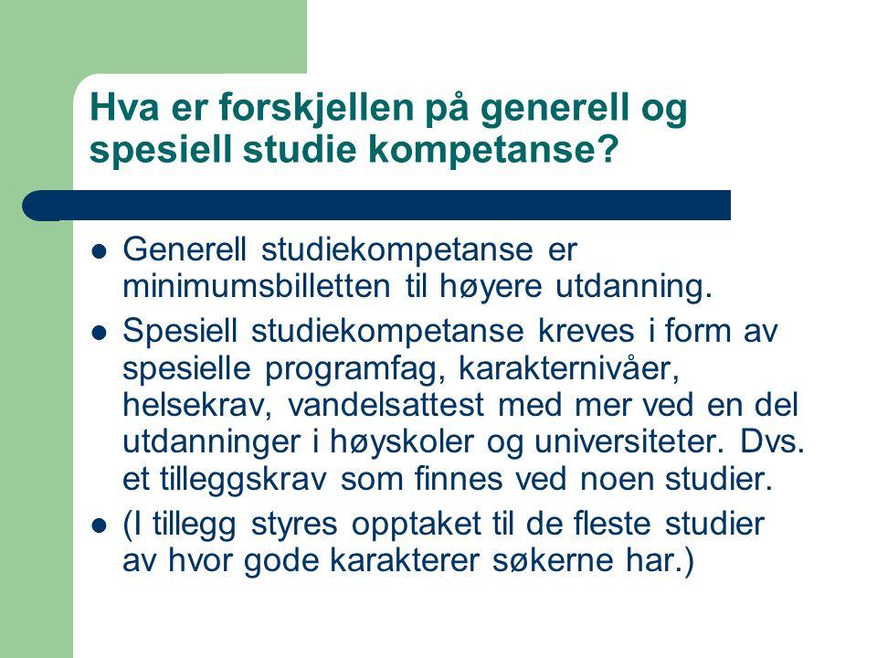 VG4 påbygging til generell studiekompetanse FagTimer Norsk10 Matematikk5 Naturfag3 Historie5 SUM23
