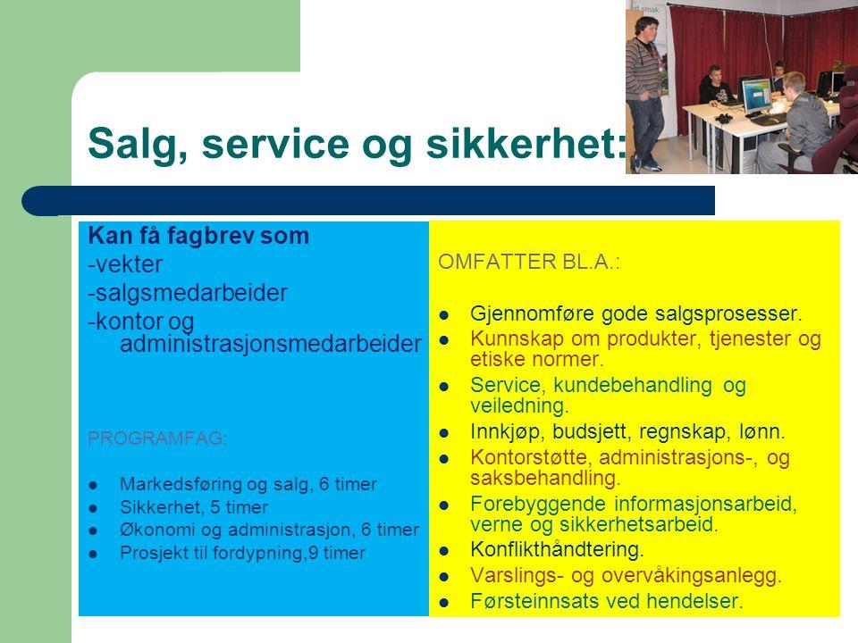 IKT – servicefag: Aktuelle arbeidssteder er knyttet opp mot drift og vedlikehold av IKT-systemer finnes i alle typer virksomheter, offentlige og private.