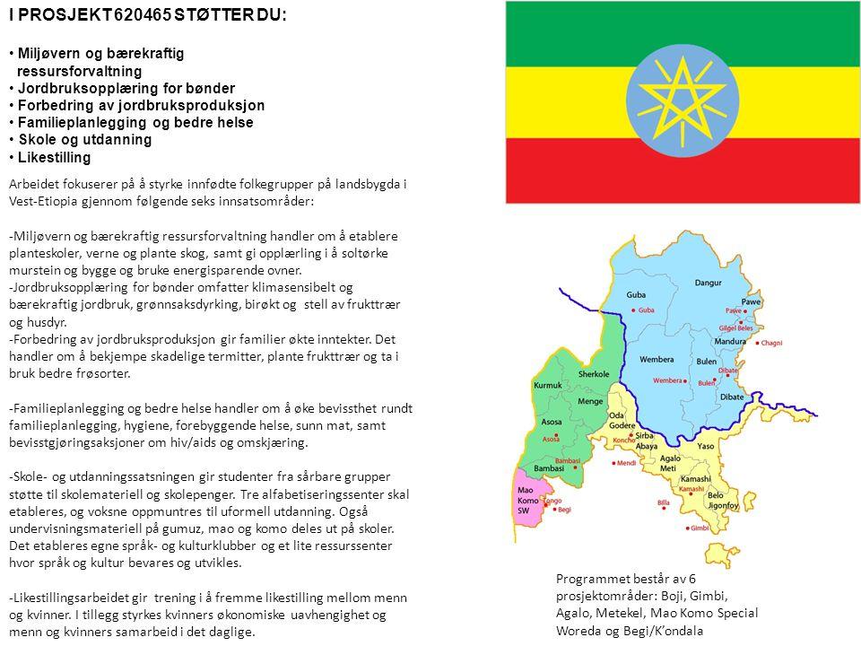 Info 1, 2015 Litt kort informasjon om Etiopia.