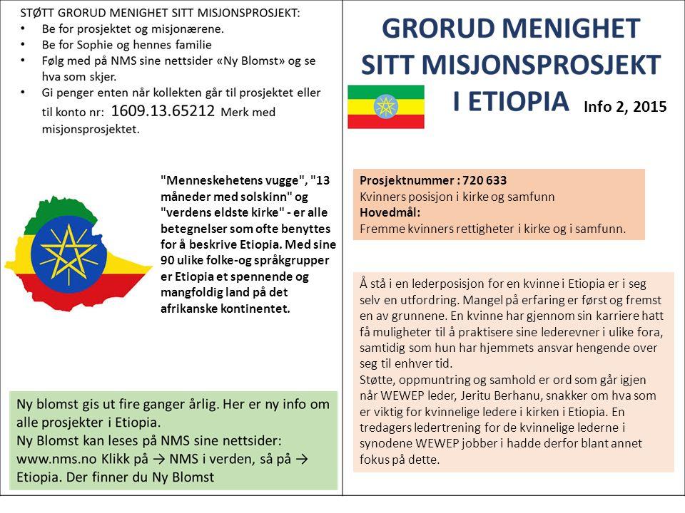 Menneskehetens vugge , 13 måneder med solskinn og verdens eldste kirke - er alle betegnelser som ofte benyttes for å beskrive Etiopia.