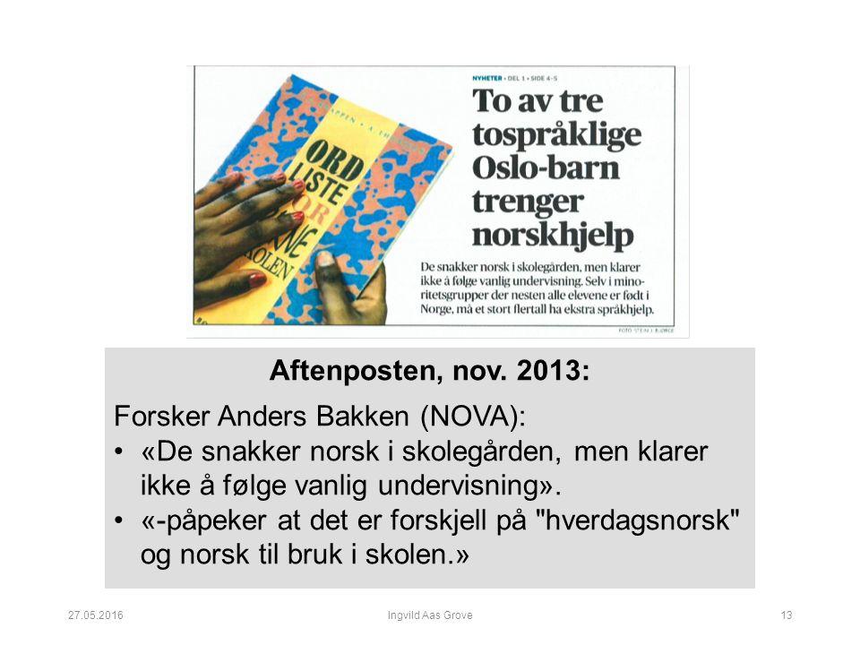 Aftenposten, nov.