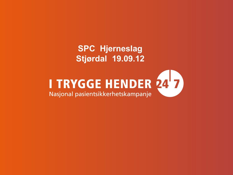 SPC Hjerneslag Stjørdal 19.09.12