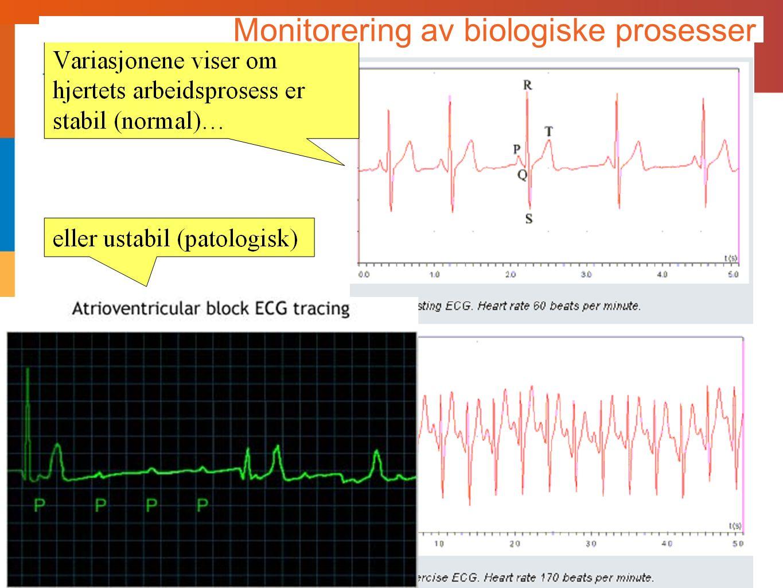 Monitorering av biologiske prosesser