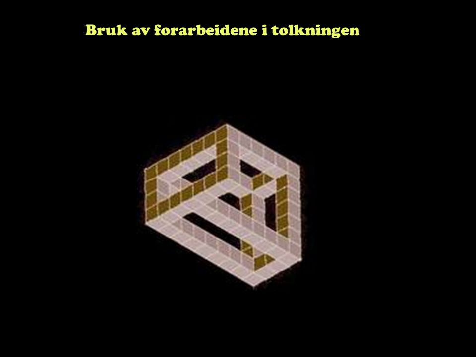 Steinar Taubøll - JUS100 UMB Hvilke dokumenter har relevans som forarbeider.
