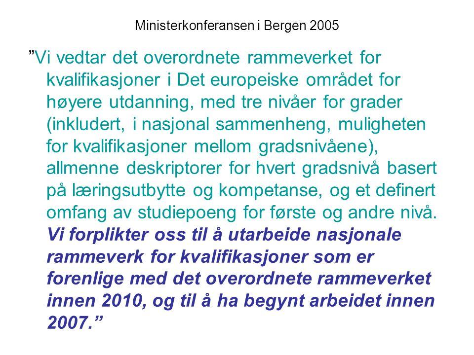 47 Nokut Forskrift om standarder og kriterier for akkreditering av studier og kriterier for akkreditering av institusjoner i norsk høyere utdanning 26.1.2006 Krav til studieplan (30 – 180 (240) studiepoeng): § 2-1 Det skal foreligge en plan for studiet.
