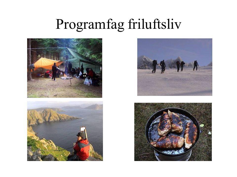 Programfag friluftsliv