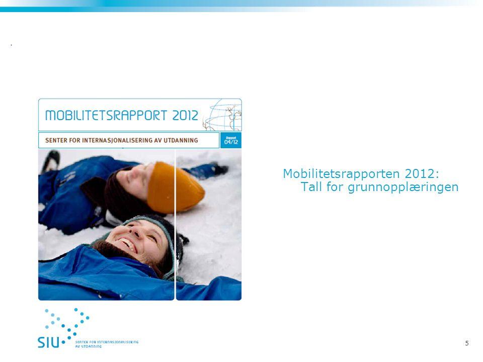 5 Mobilitetsrapporten 2012: Tall for grunnopplæringen