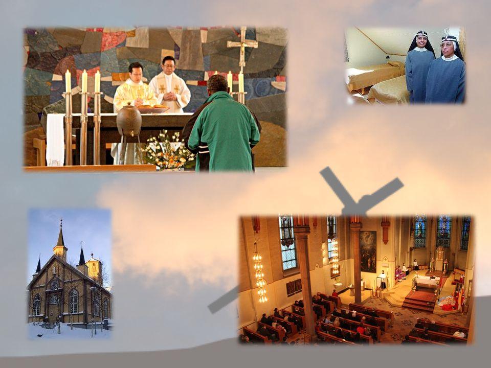 BISKOPEN En av hovedoppgavene til en biskop er å innvie nye prester i bispedømmet sitt.