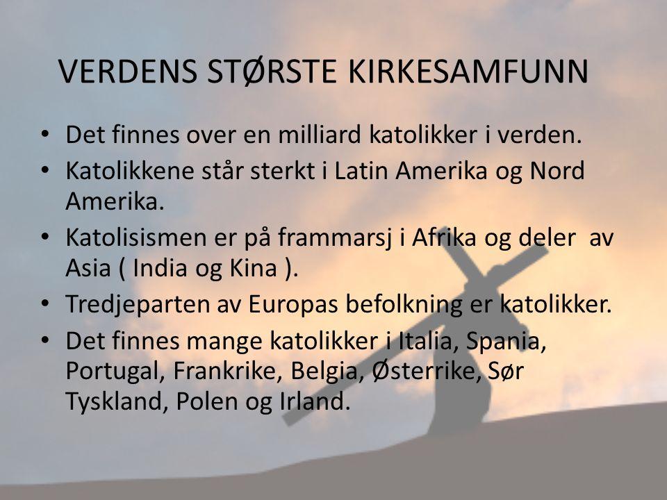 katolisismen i norge