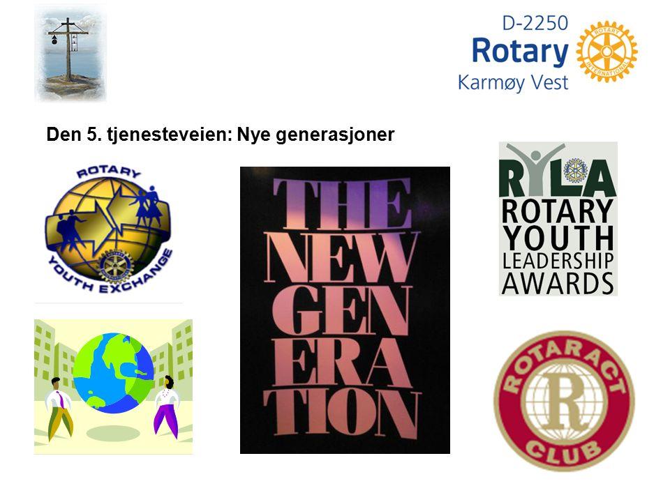 Den 5. tjenesteveien: Nye generasjoner