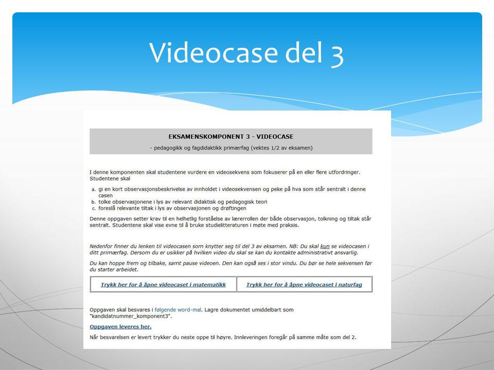 Videocase del 3