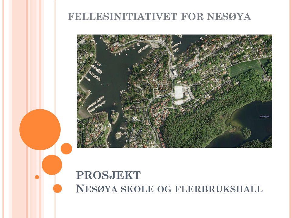 PROSJEKT N ESØYA SKOLE OG FLERBRUKSHALL FELLESINITIATIVET FOR NESØYA