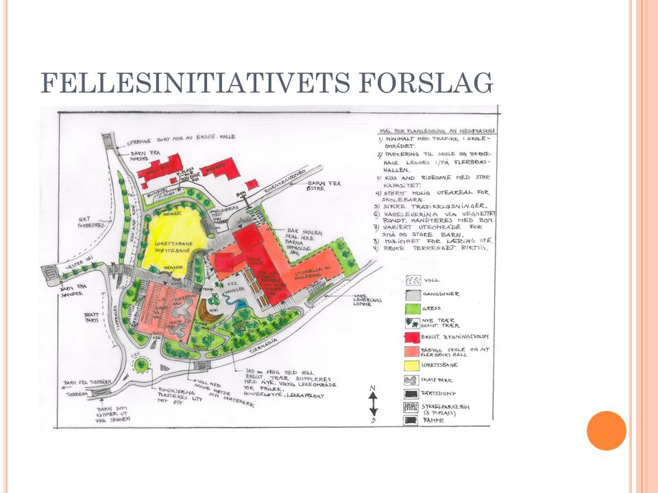 FELLESINITIATIVETS FORSLAG