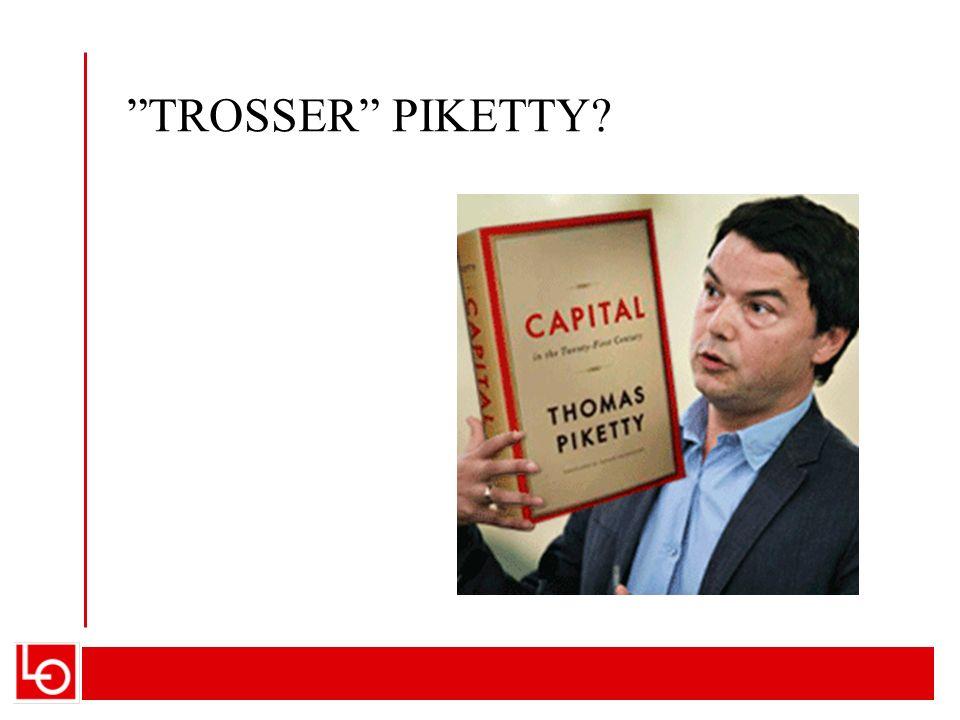 DREIER SEG OM MAKTBALANSE OG STYRING Norge er kanskje det land som mest avviker fra Pikettys «problemscenarie»: Lønnsandelen holder seg bedre oppe Inntektsfordelingen holdes mer jevn