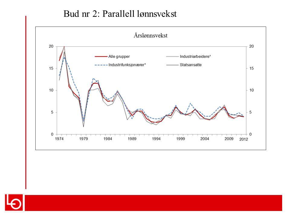 JEVN LØNNFORDELING ER PRODUKTIVT 1.«Det inntektspolitiske samarbeidet mellom partene i arbeidslivet og myndighetene og høy grad av koordinering i lønnsdannelsen har bidratt til en god utvikling i Norge, med høy verdiskaping, lav arbeidsledighet, jevn inntektsfordeling og gjennomgående høy reallønnsvekst» (NOU 2013:13, Holden III utvalget) 2.Det er nødvendig med ordninger for å motvirke sosial dumping og lavlønnskonkurranse i lang tid framover» Hilsen bl.a.