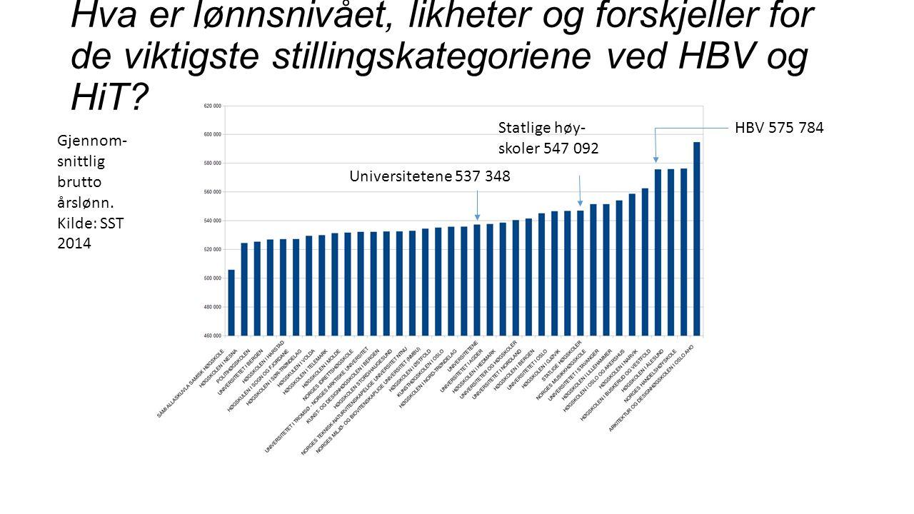 Lønnsutjevning i HSN?.