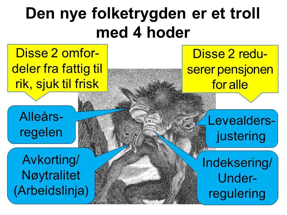 Sjukefraværet i Norge er muligens relativt høyt, og kanskje har vi mange uføre.