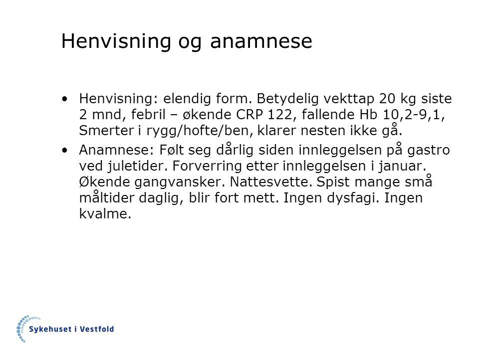 Screening av ernæringsmessig risiko (NRS 2002)