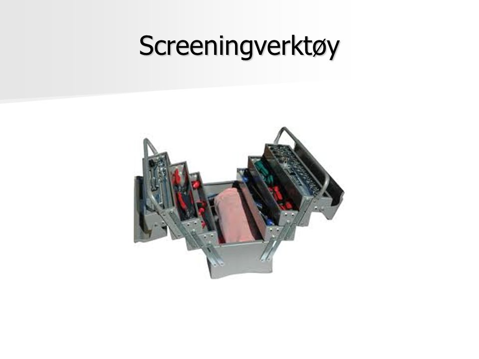 Screeningverktøy
