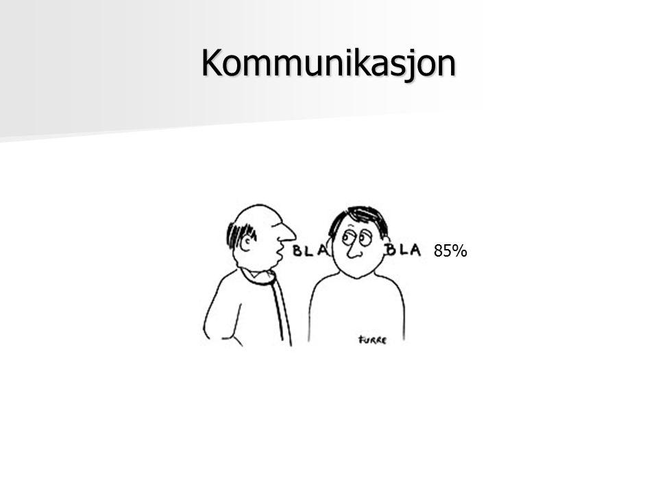 Kommunikasjon 85%