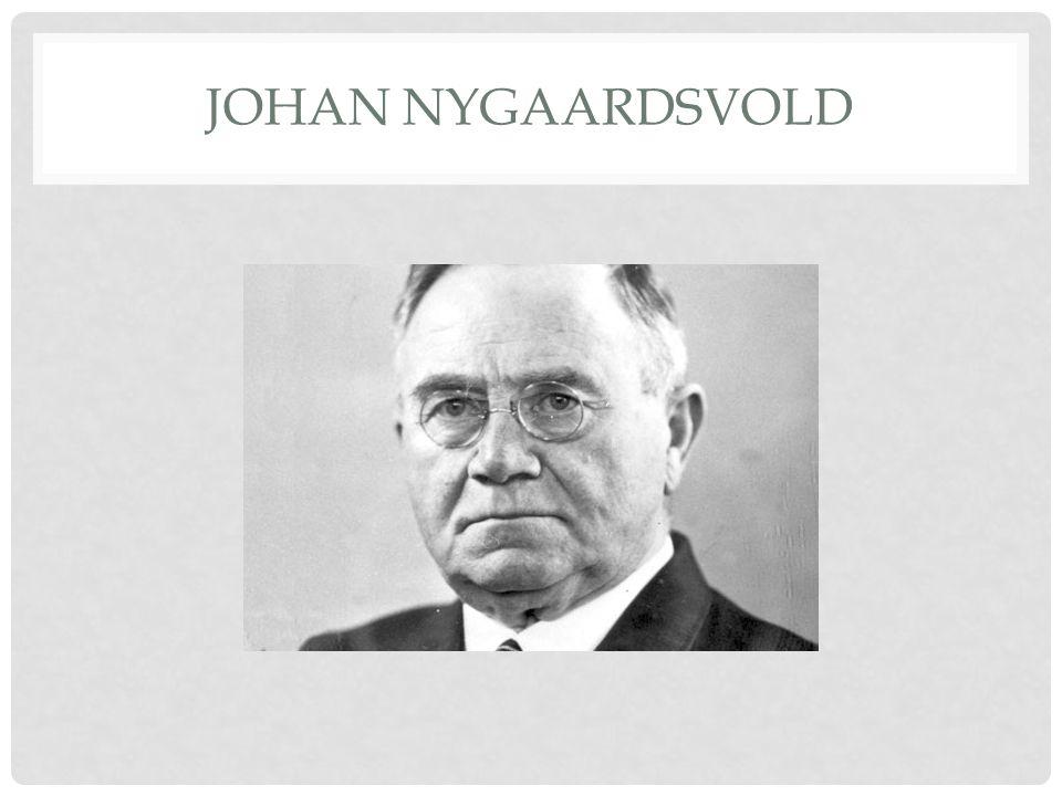 JOHAN NYGAARDSVOLD
