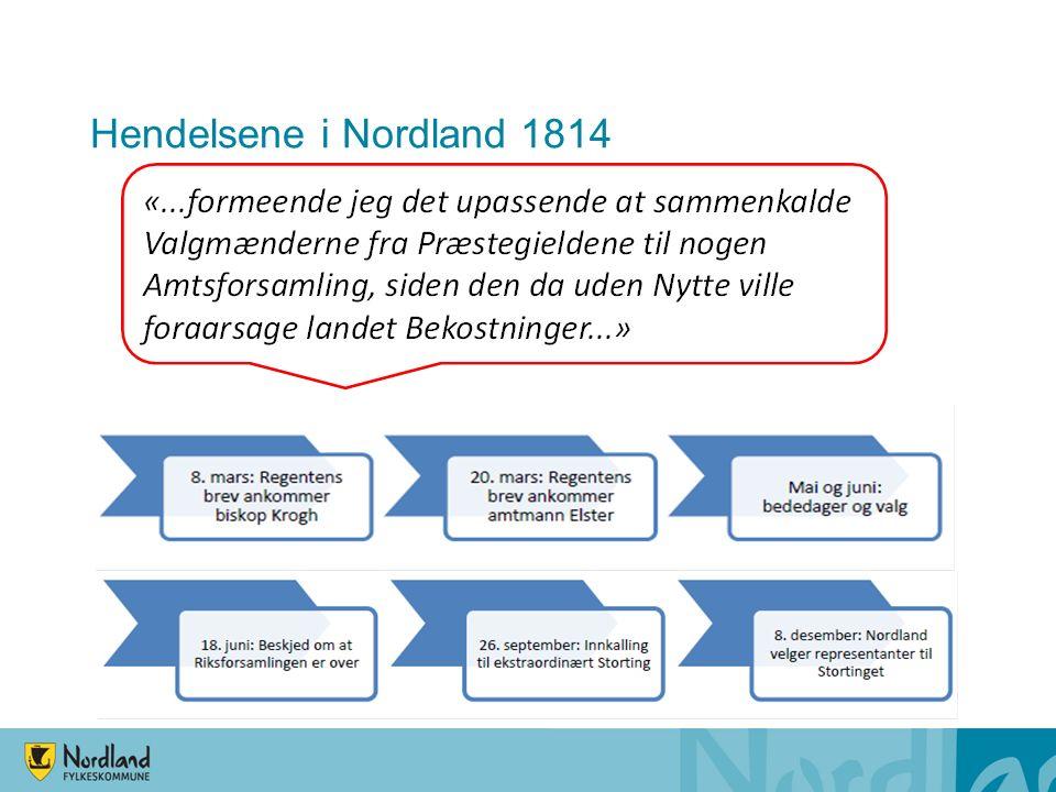 Hendelsene i Nordland 1814