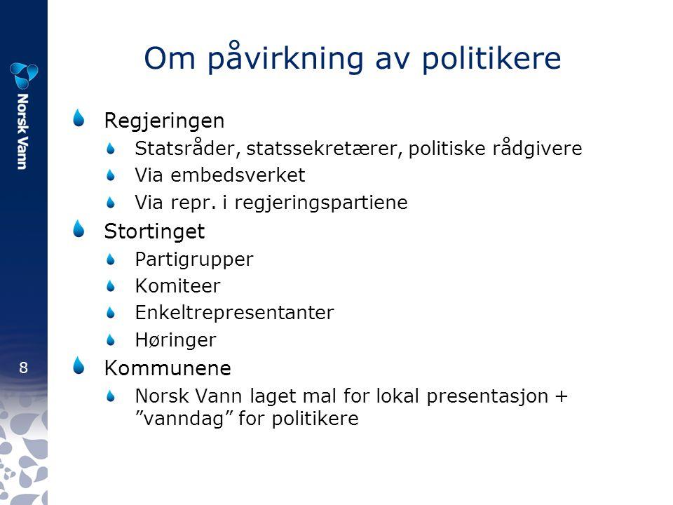 9 Regelverksendringer 2007 – lover/forskrifter/veil.