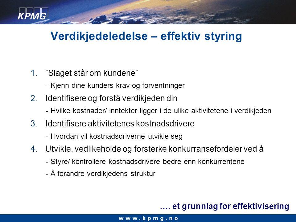 Trender og utviklingstrekk Resultater fra Norsk Logistikkbarometer