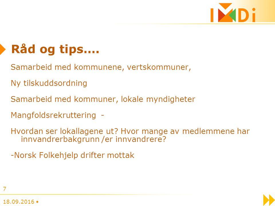Råd og tips….