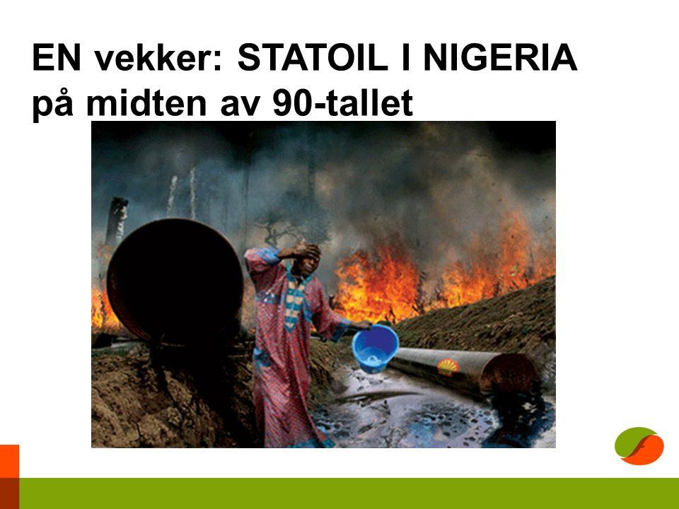 EN vekker: STATOIL I NIGERIA på midten av 90-tallet