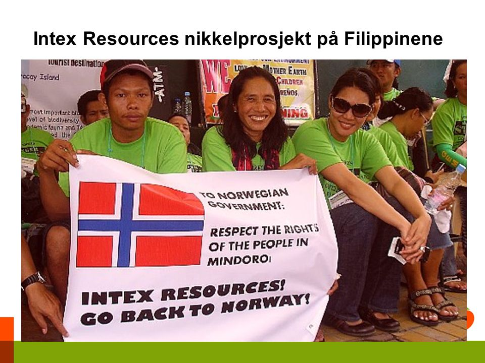 Intex Resources nikkelprosjekt på Filippinene