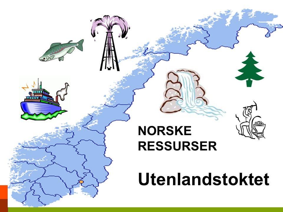 NORSKE RESSURSER Utenlandstoktet