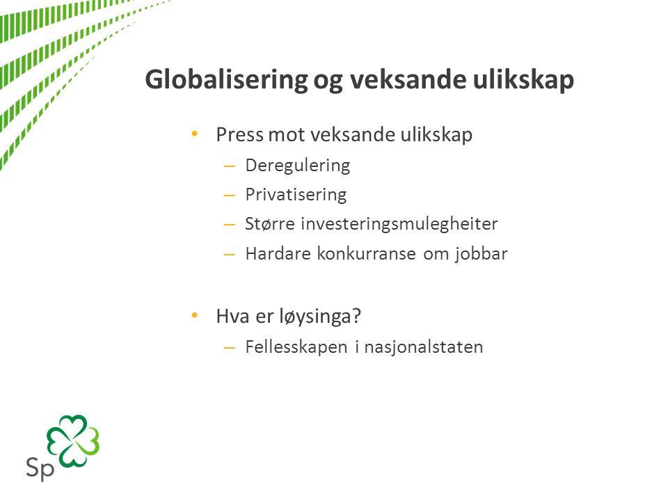 Regjeringa sitt opningstilbod www.regjeringen.no/nb/tema/utenrikssaker/handelspolitikk/tisa_tilb ud/id746660/