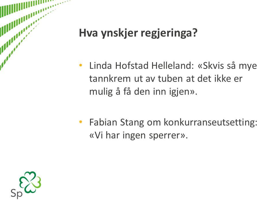 Investeringsavtaler med ISDS diskrimerer norske selskap i Noreg Ved norske avtale med ISDS-klausul vil utanlandske firma få konkurransefortrinn som består i at disse kan saksøke staten for nye reguleringar i ein overnasjonal domstol.