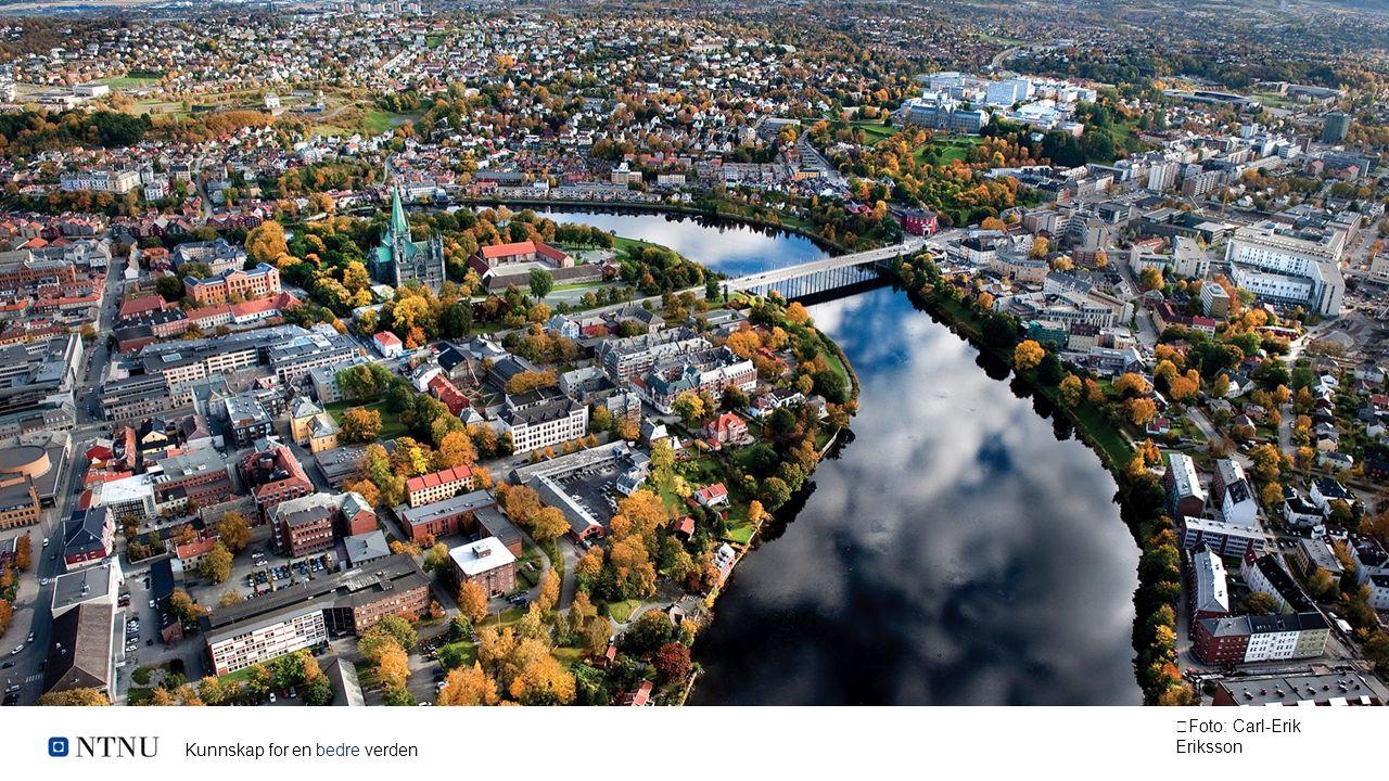 Kunnskap for en bedre verden Foto: Carl-Erik Eriksson