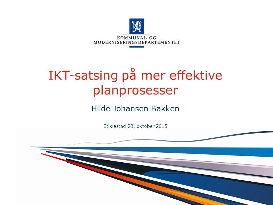 Norsk mal: Startside alt.1 For engelsk mal Velg KMDmal – engelsk under oppsett .