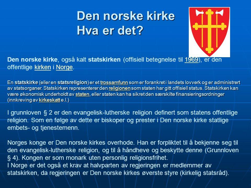 Den norske kirke Hva er det.