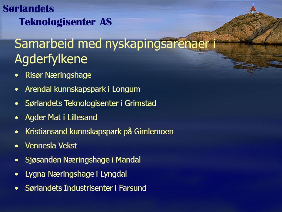 Sørlandets Teknologisenter AS Kreativ tenking Mange gode ideer kommer aldri fram.