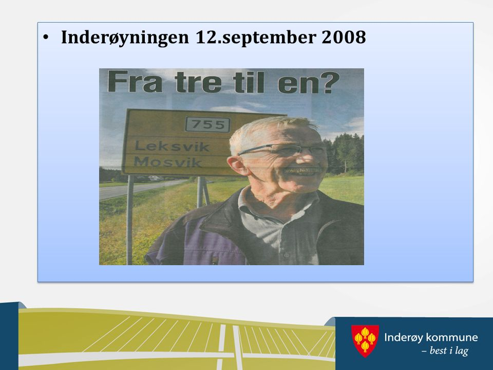 Inderøyningen 12.september 2008