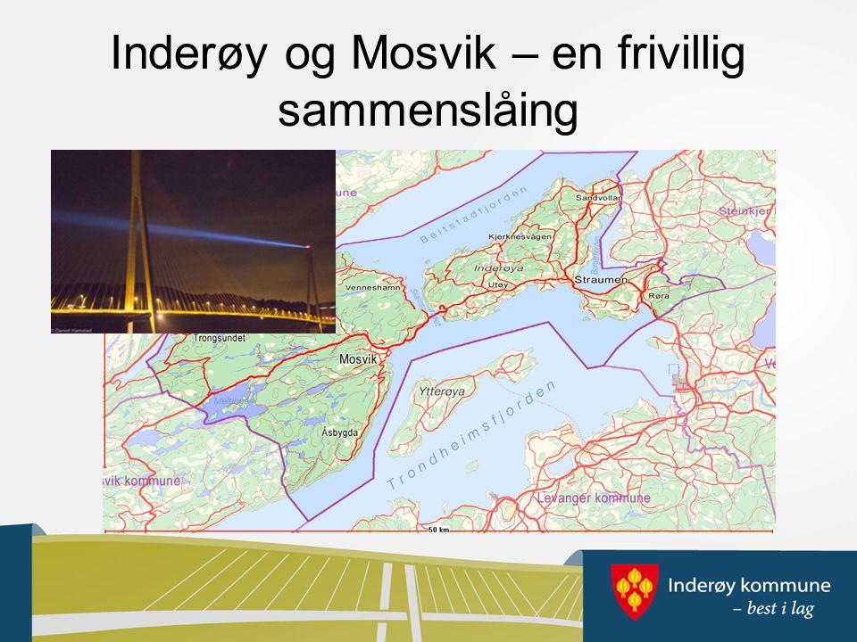 Inderøy og Mosvik – en frivillig sammenslåing