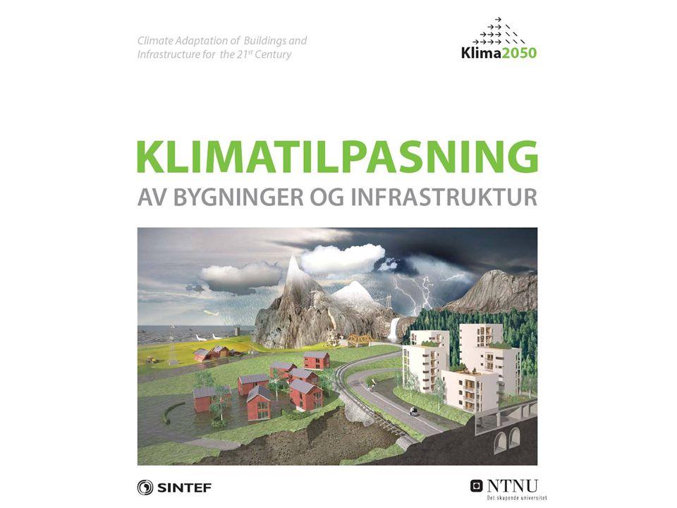 I samarbeid med sentrale private og offentlige partnere ønsker SINTEF Byggforsk og NTNU å etablere Klima 2050 som et senter for forskningsdrevet innovasjon (SFI) SFI Klima 2050 vil ha som mål å utvikle teknologier, robuste løsninger og beslutningsstøtte for tilpasning av eksisterende og framtidige bygg og infrastruktur til et klima i endring.