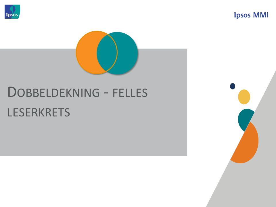 O VERVIEW D OBBELDEKNING - FELLES LESERKRETS