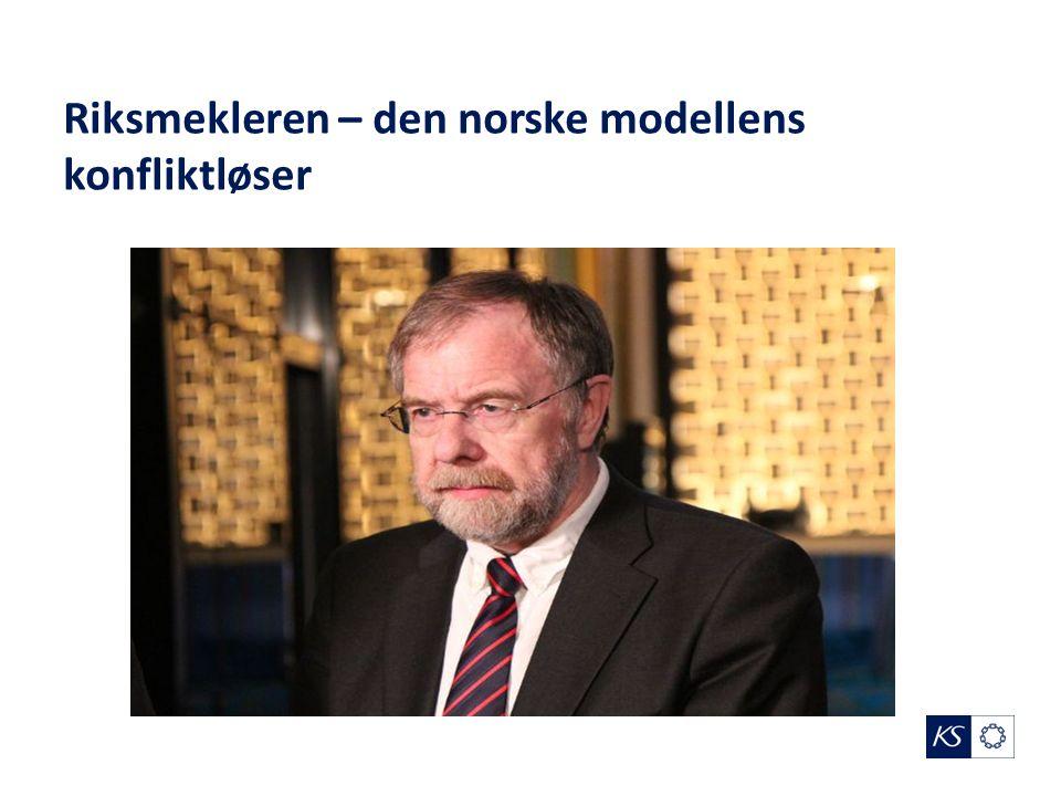 Riksmekleren – den norske modellens konfliktløser