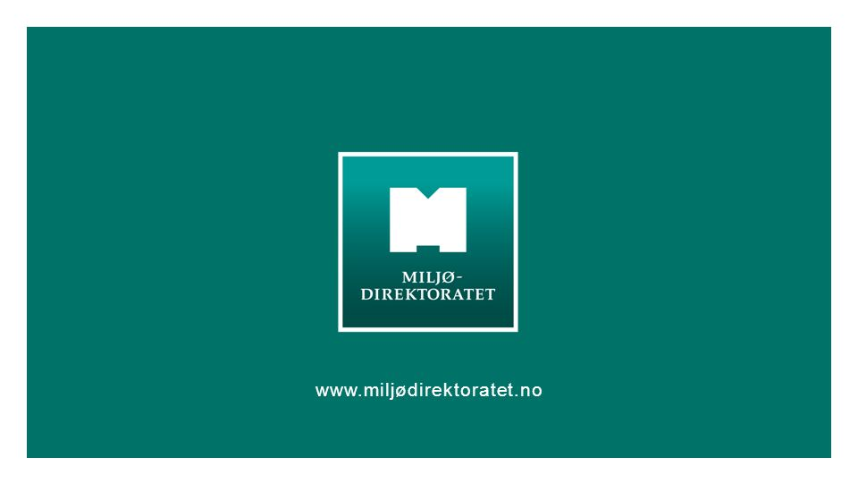 www.miljødirektoratet.no