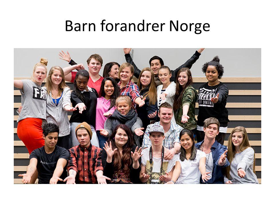 Barn forandrer Norge